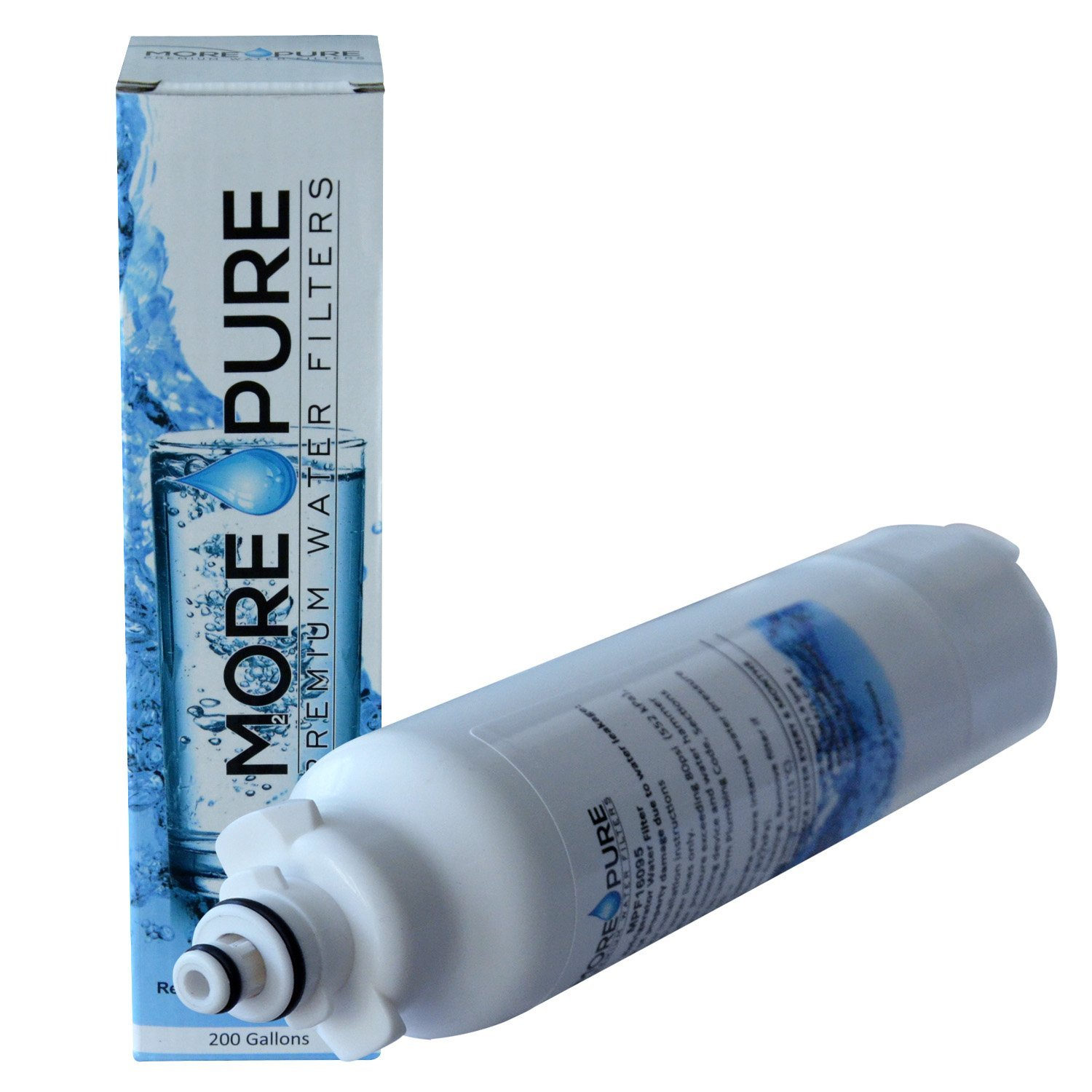 MORE Pure MPF16095 Refrigerator Water Filter Compatible with LG LT800P and Kenmore 46-9460 by MORE Pure Filters (Image #9)