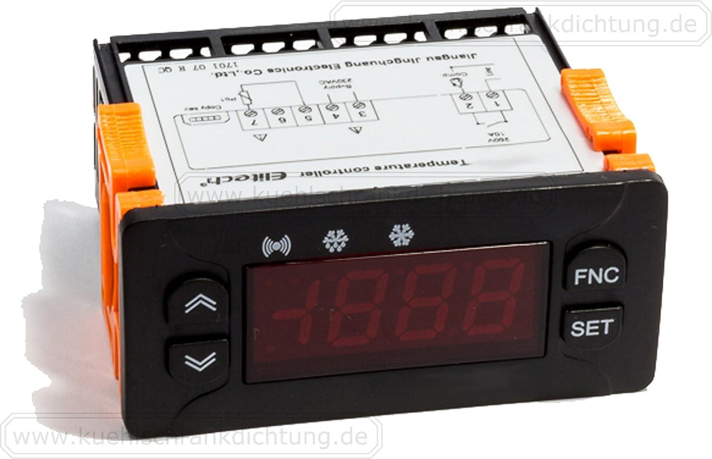 Elitech id961/digitalhe rmostat 220/V di 50//° a 100//° PTC//NTC