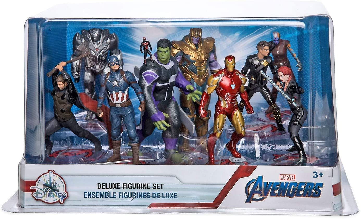 Marvel Set de figuritas Avengers - Avengers: Endgame: Amazon.es: Juguetes y juegos