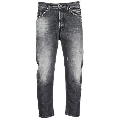 Jeans Versace Denim Hombre Cropped Pantalones Vaqueros De dxZxw7v