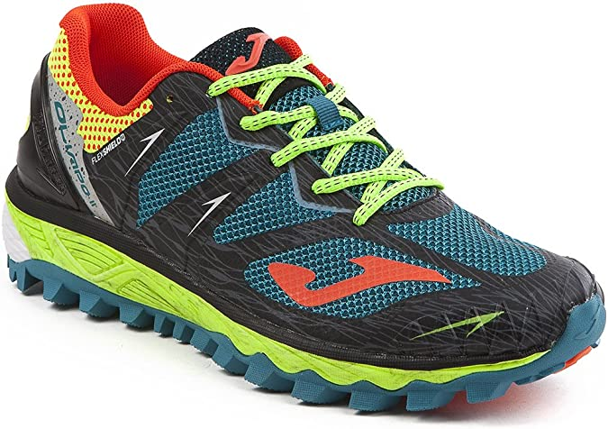 JOMA Olimpo, Zapatillas de Running para Asfalto para Hombre, Negro (Black-Green), 40 EU: Amazon.es: Zapatos y complementos
