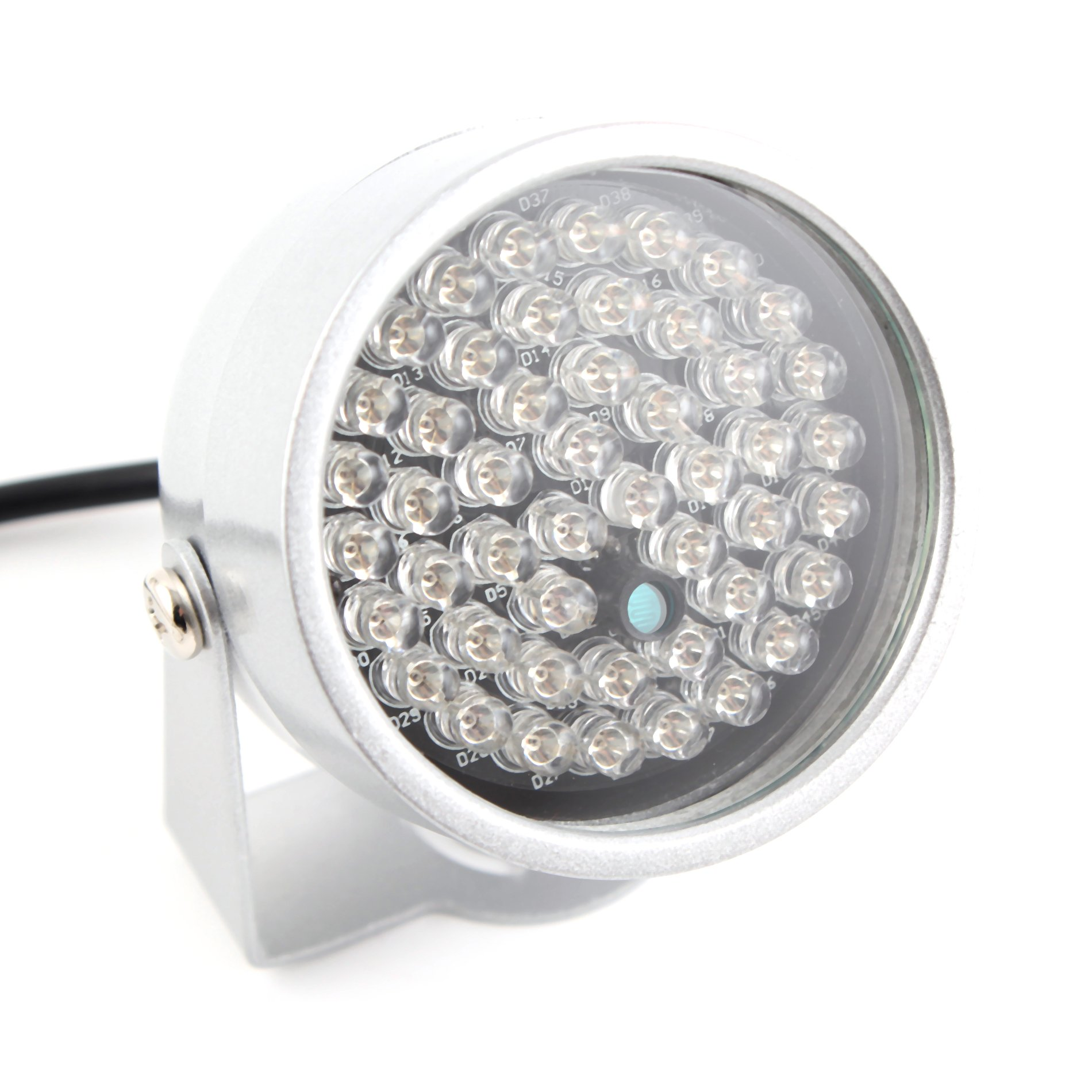Waterproof 48 LED Illuminator Light Lamp Night Vision Lamp for Indoor Outdoor Security CCTV Camera by OLSUS