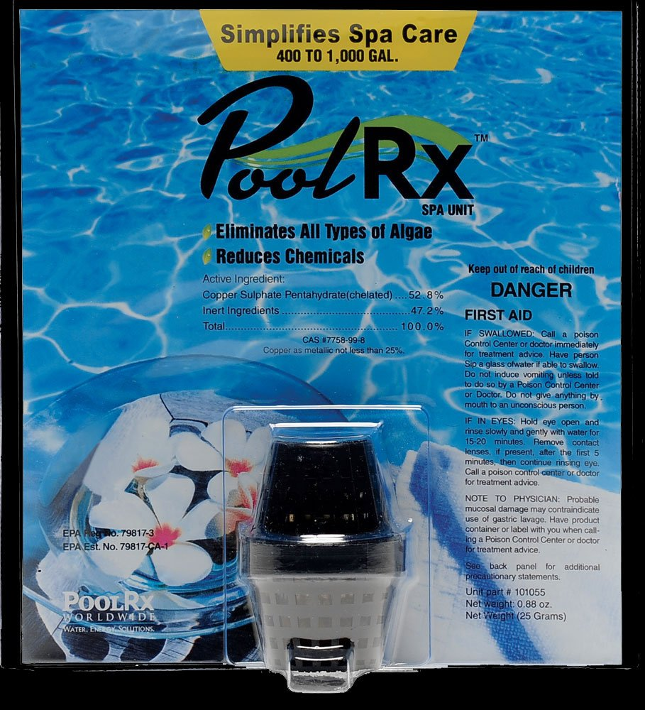 PoolRx 400-1K Gallon Black Spa Unit by Pool RX