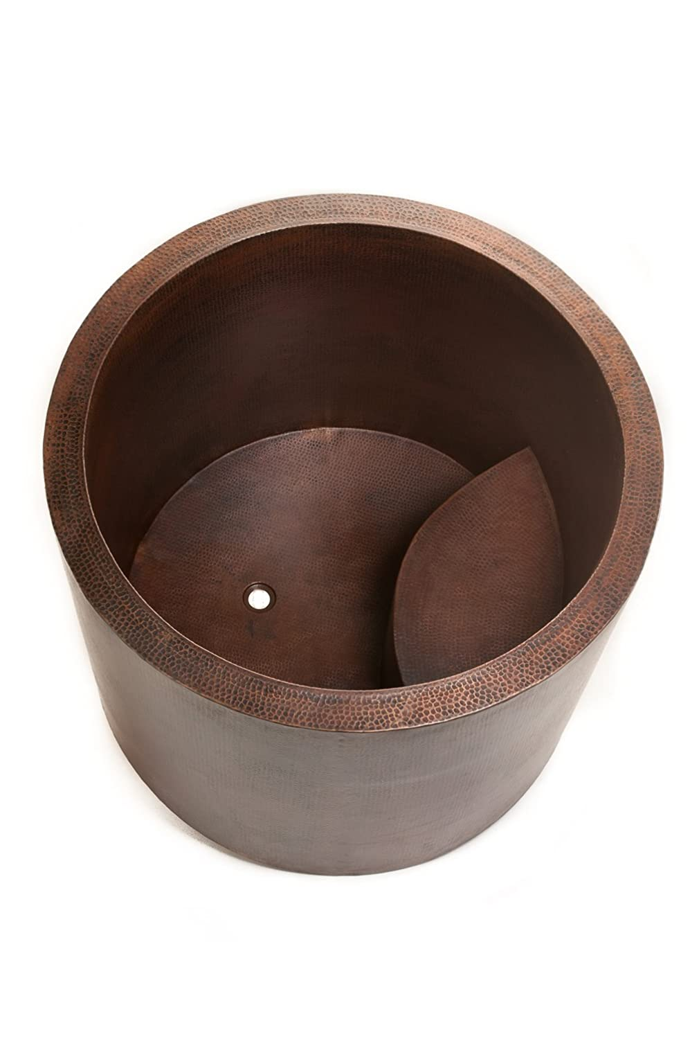 Premier Copper Products BTR45DB Japanese Style Soaking Hand Hammered Copper  Bath Tub, Oil Rubbed Bronze   Utility Sinks   Amazon.com