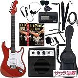 SELDER セルダー エレキギター ストラトキャスタータイプ サクラ楽器オリジナル ST-16/MRD リミテッドセットプラス