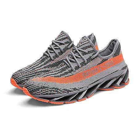 CAI Zapatillas de Punto de los Hombres 2018 Primavera/Otoño Nuevos Pares de Zapatos Zapatos cómodos de los Deportes Hombres/Mujeres Tendencia Zapatillas de ...