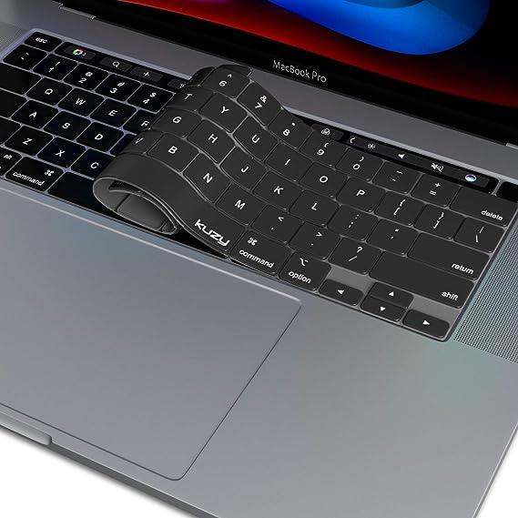 Kuzy - Funda de Teclado para MacBook Pro de 16 Pulgadas 2019 A2141 con Pantalla táctil y Retina, Protector de Silicona para Teclas, Accesorios para Apple MacBook Air: Amazon.es: Electrónica