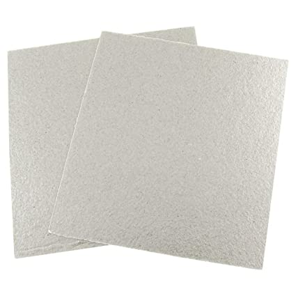 SLB Works Mica Plates Sheets Microwave Oven Repairing Part 13 x 12cm 2 Pcs
