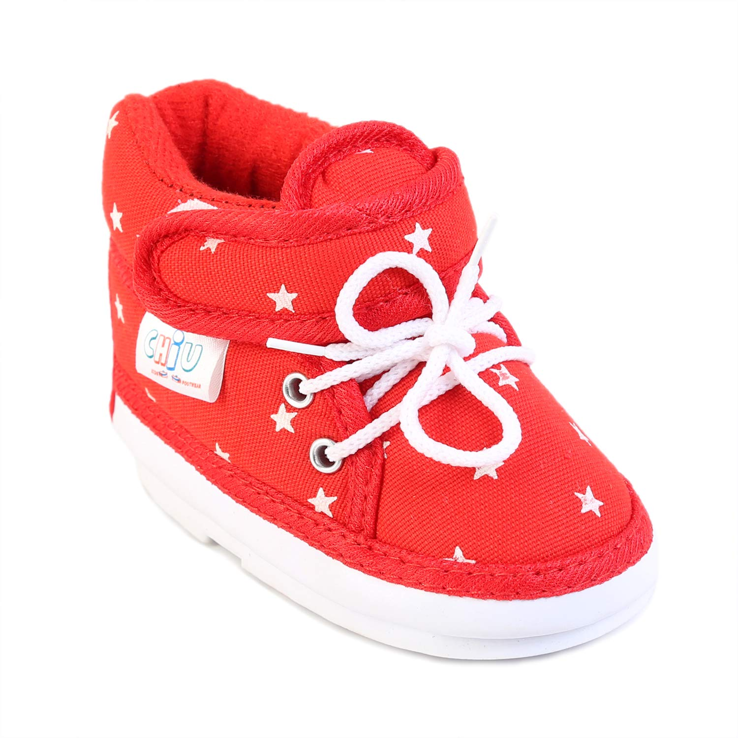 CHIU Musical Star Pattern Red Shoes for