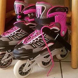 Amazon Com Epic Skates Spear Adjustable Inline Roller Skates Youth 1 4 Industrial Scientific
