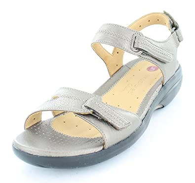 Ladies Clarks Unstructured Sandals Un Galleon Metallic Leather Size 7   Amazon.co.uk  Shoes   Bags