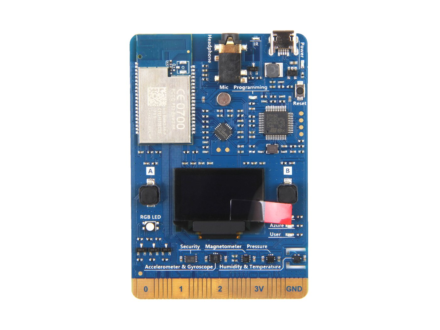 En ziyun az3166 IOT Developer KIT, IT IS COMPATIBLE WITH Arduino with abundant Peripherals and Sensor, Could Be Used For The Development of IOT and Smart ...