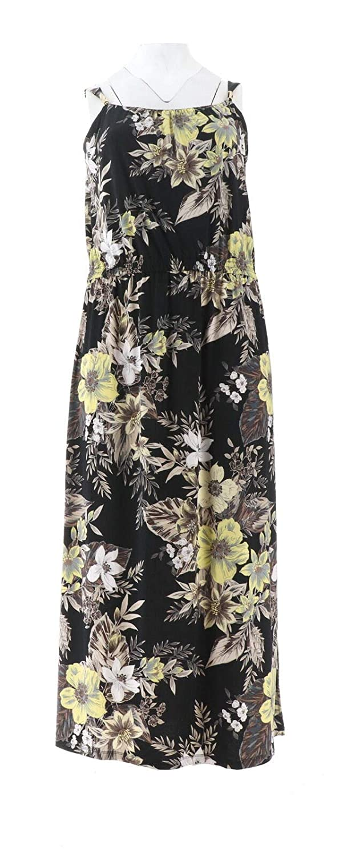 02e64aae6f Susan Graver Printed Liquid Knit Maxi Dress A306537 at Amazon Women's  Clothing store: