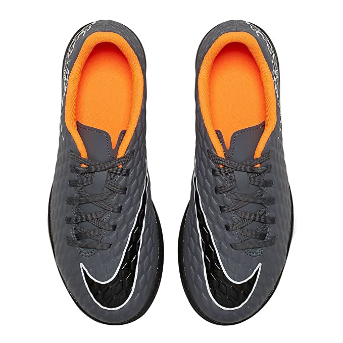 049752d1d959 NIKE Unisex Kids' Jr Phantomx 3 Club Tf Fitness Shoes, Multicoloured (Dark  Grey/Total Orange 081), 4 UK 4 UK: Amazon.co.uk: Shoes & Bags