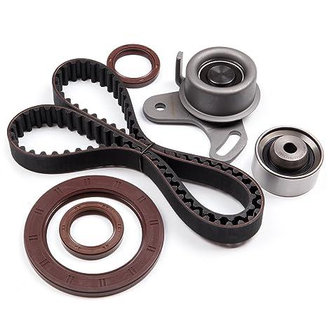 SCITOO Timing Belt Tensioner kit fit 06-11 KIA RIO5 1 6L DOHC L4 ENG Code  Alpha II G4ED