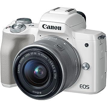 Amazon com : Canon EOS M50 Wi-Fi Digital ILC Camera & EF-M