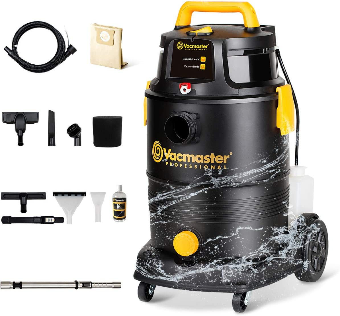 Vacmaster Wet Dry 3 in 1 Portable Carpet Cleaner