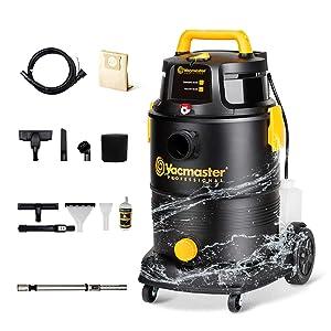 Vacmaster Wet Dry Shampoo Vacuum Cleaner