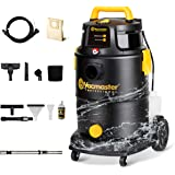 Vacmaster Wet Dry Shampoo Vacuum Cleaner 3 in 1 Portable Carpet Cleaner 8 Gallon 5.5 Peak HP Power Suction Washable HEPA Filt