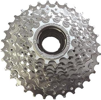Sunrace Schraubkranz Kassette 13-28 8-fach E-Bike silber
