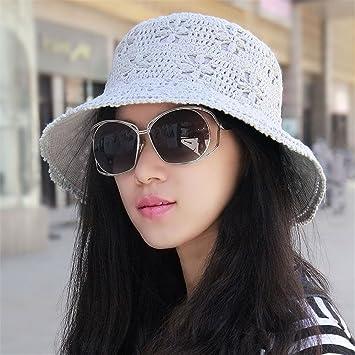 Saibangzi Die Sommer Sonne Hut Mütze Baumwolle Häkeln Beanie Mütze