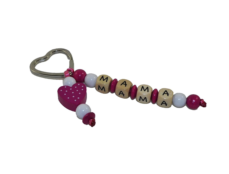 My Schnullerbox Schlüsselanhänger mit Namen; Motiv Herz