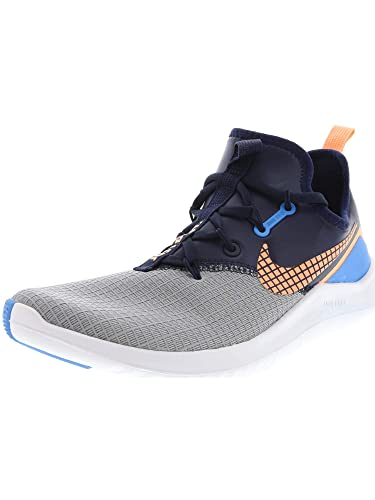 1b887780eb8bf Nike Women s Free TR 8 NEO Training Shoes Wolf Grey  Orange Pulse-Blue 8.5