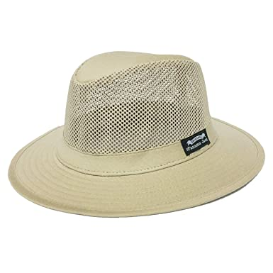 0b9638c4e42914 Panama Jack Mens Mesh Safari Sun Hat at Amazon Men's Clothing store: