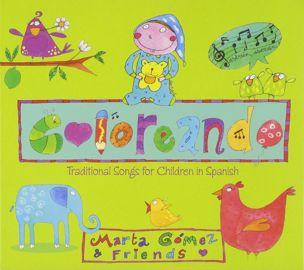 Coloreando: Traditional Songs for Children in Spanish by GLP