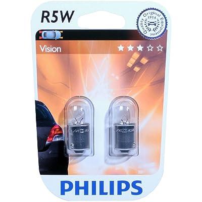 Philips 0730018 12821B2 R5W Premium 12 V Pair: Automotive