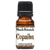Miracle Botanicals Copaiba Essential Oil - 100% Pure Copaifera Langsdorfii - 10ml...