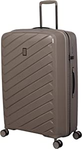 it luggage Influential Hardside Spinner, Taupe, Checked-Large 29-Inch