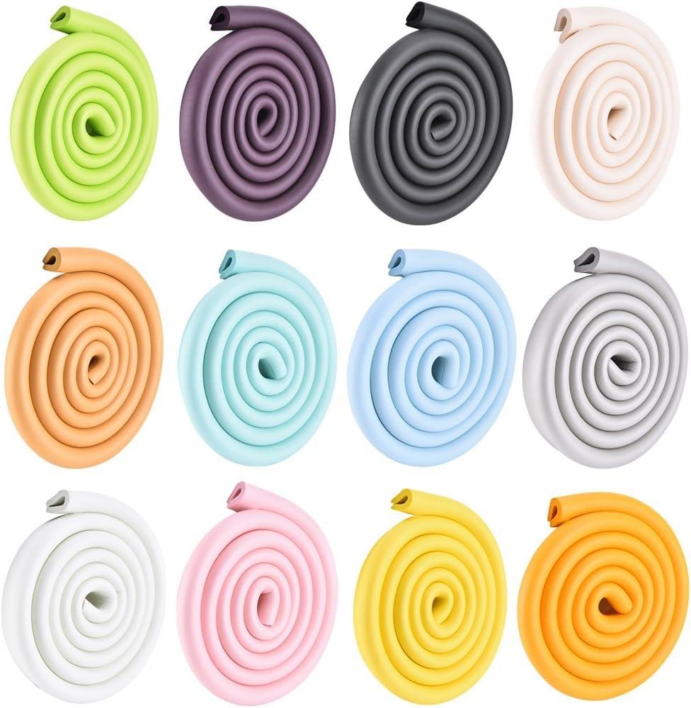 bordi morbidi paraspigoli in gomma per bambini 2 m forma a U Cuigu