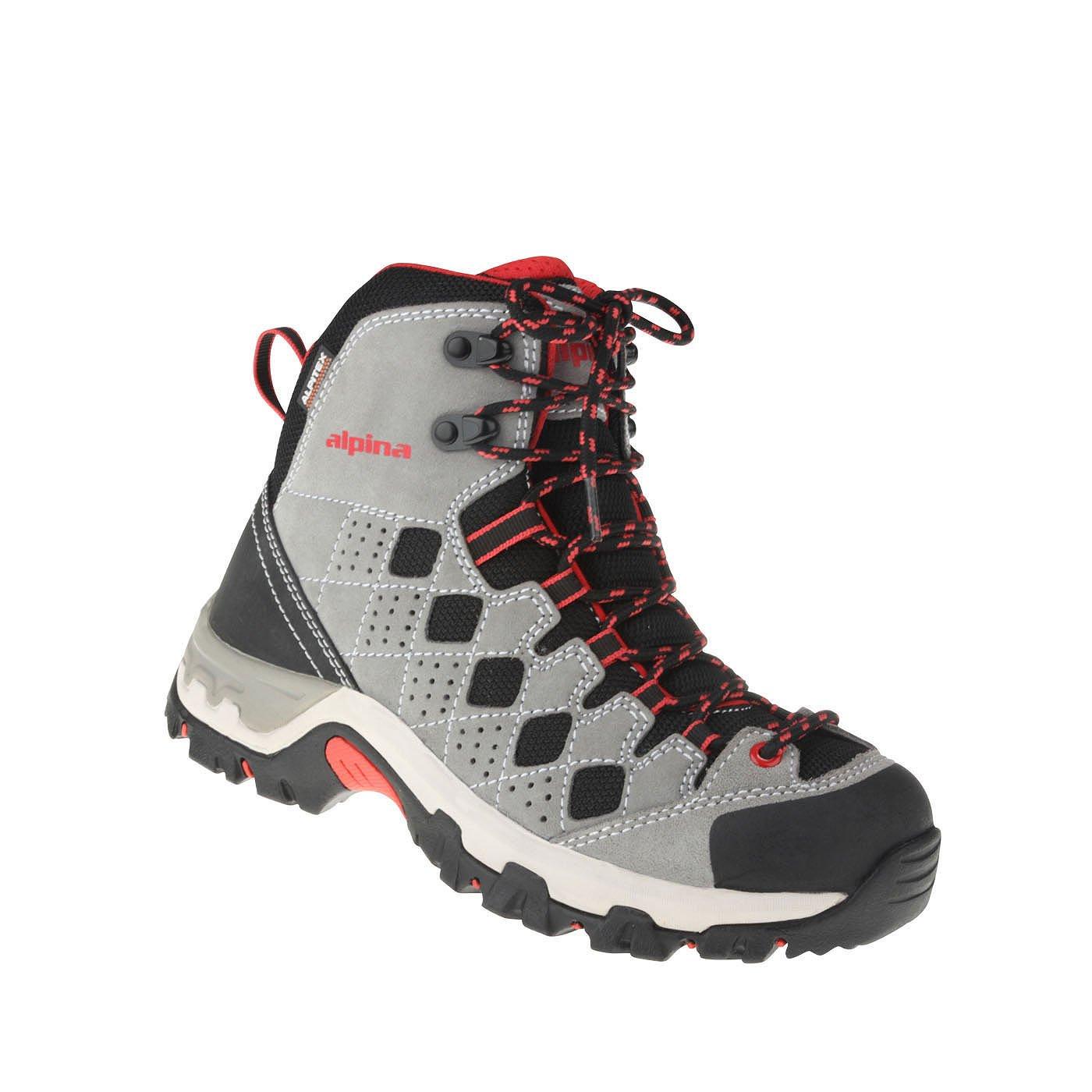 Alpina Damen Schnürer Aus Echtem Leder | Trekking | Weite H | Lose Einlagen