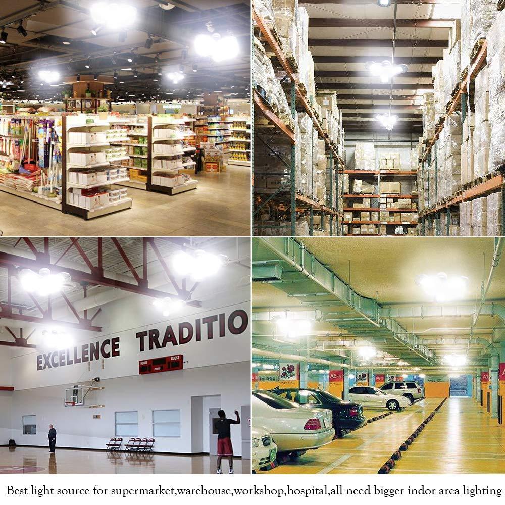 Garage Lighting 80W,Led Garage Lights 8000lm,E26 Garage