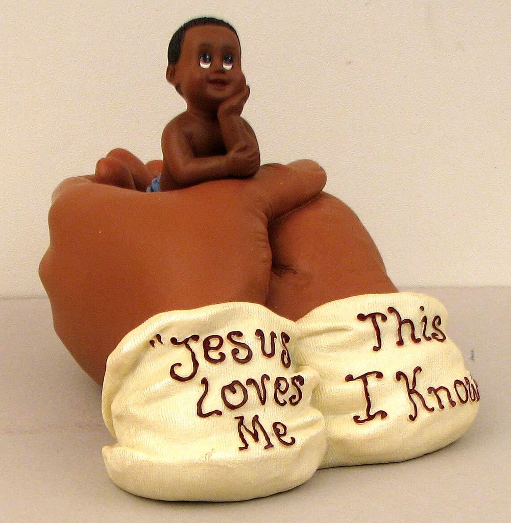 Amazon Com Baby Boy Figurine Jesus Hand Children Love Christ Home