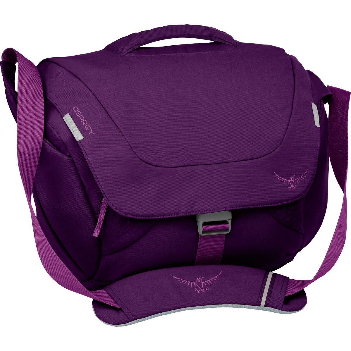 Osprey Women's FlapJill Courier Day Pack, Dark Magenta
