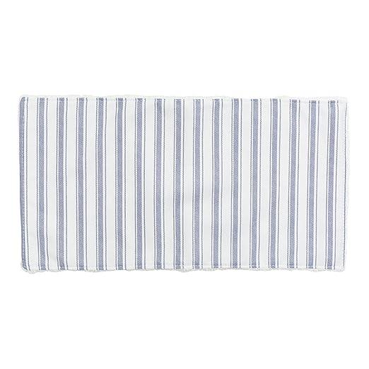 Seca babas color azul//raya Cambrass Denim 29.5 x 15.5 cm