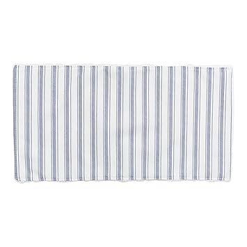 Cambrass Denim - Seca babas, 29.5 x 15.5 cm, color azul/raya: Amazon.es: Bebé