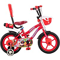 Maskman Kids Bicycle 14T Single Speed Cycle for Boys & Girls with Training Wheels (Age Group 3-5 Years)