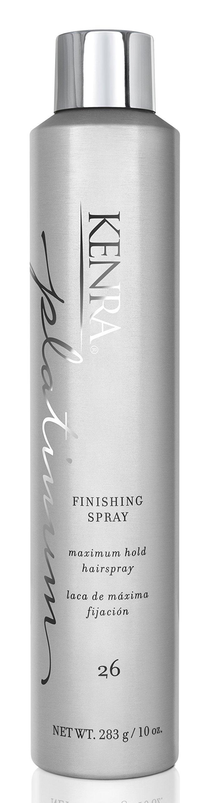 Kenra Platinum Finishing Maximum Hold, No.26 Spray Unisex Hair Spray, 10 Ounce