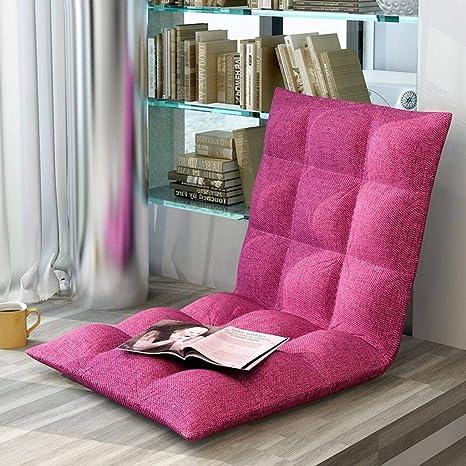BEIGOO Cojines para Silla, Tatami Plegable Cojín para el Suelo algodón Cojín cómodo sofá casa