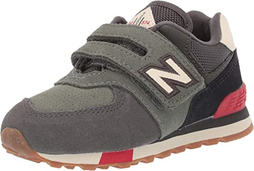 Comprensión Europa Jugar con  New Balance Baby Boys' Iconic 574 V1 Hook and Loop Sneaker, Camo  Green/Team, 2 W US Infant (0-12 Months): Amazon.co.uk: Shoes & Bags