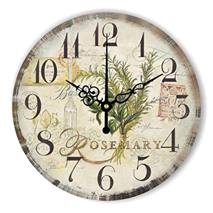 Amazon Com Silent Beautiful Wall Clock Watch For Bedroom Decoration