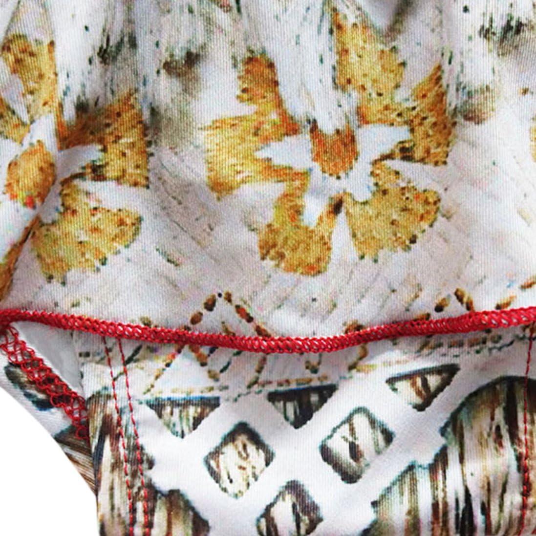 Little litte smile Girls Summer Moana Two-Piece Bikini Sets Red 2-8t