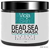 PREMIUM Dead Sea Mud Face Mask - Facial Anti Ageing Blackhead Remover For All Skin Types - Naturally Experience The Best Skin Possible