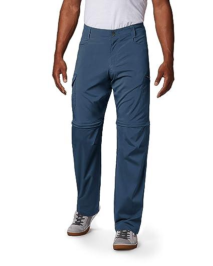 e0bdc57a Columbia Men's Silver Ridge Stretch Convertible Pants, Dark Mountain, 30x28