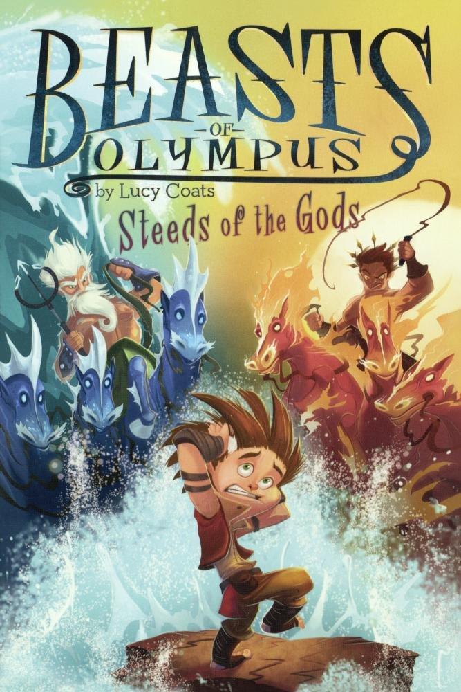 Steeds Of The Gods (Turtleback School & Library Binding Edition) (Beasts of Olympus)