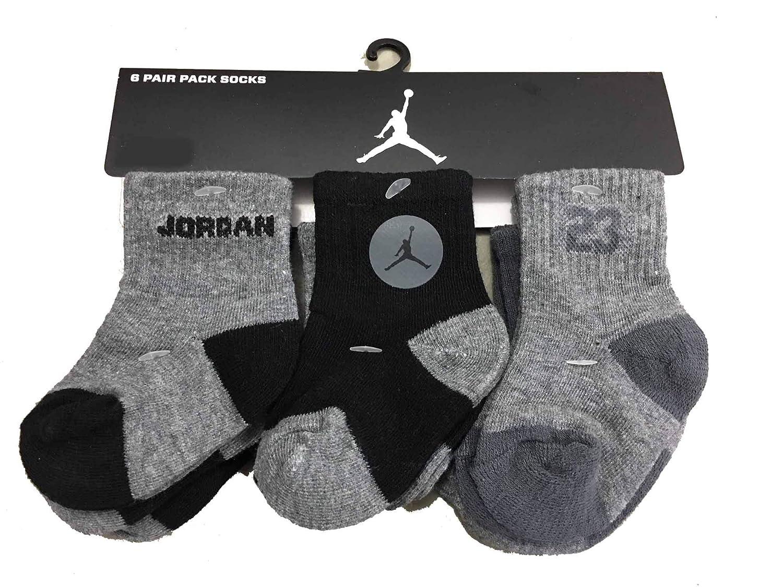 Amazon.com: Niños Nike Air Jordan Infant/toddler calcetines ...