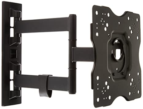AmazonBasics Heavy Duty, Full Motion Articulating TV Wall Mount For 22 Inch  To